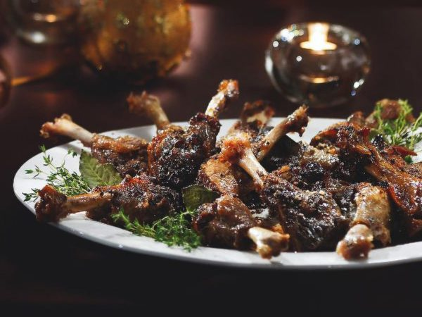 Recipe — Duck Manchons with Maple Syrup