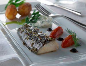 Mackerel à la Batelière (Revisited) with Maple and Smoked Château Potatoes