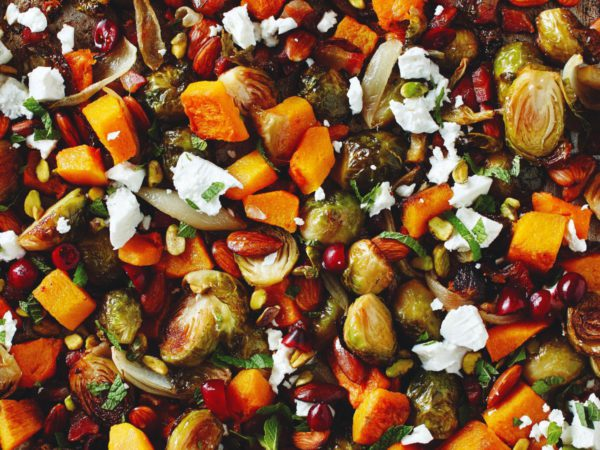 Recipe — Brussels Sprout Medley with Maple