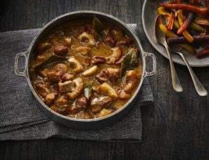 Apple and Maple Veal Stew