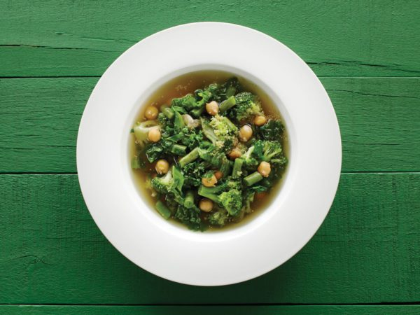 Recipe — Green Minestrone with Amaranth and Maple