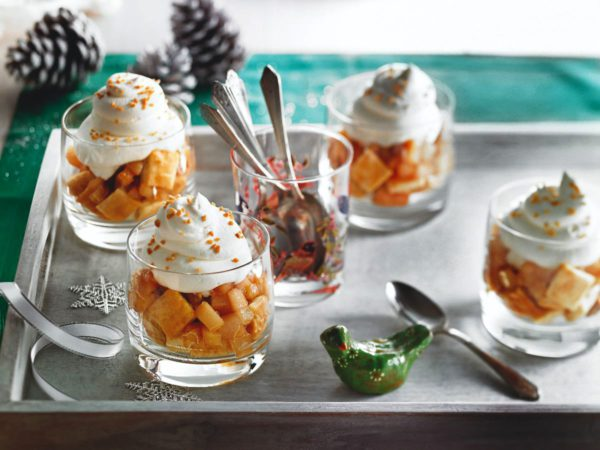 Recipe — Maple and Pear Mini-Parfaits