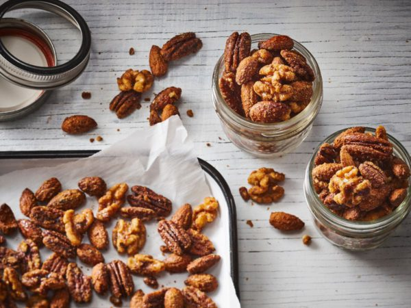 Recipe — Crunchy Nuts with Maple Syrup