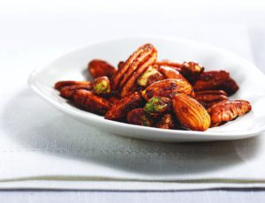 Recipe — Spicy Maple Walnuts, Almonds, Pecans and Pistachios