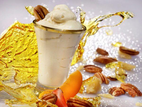 Recipe — Maple and Pecan Frozen Nougat