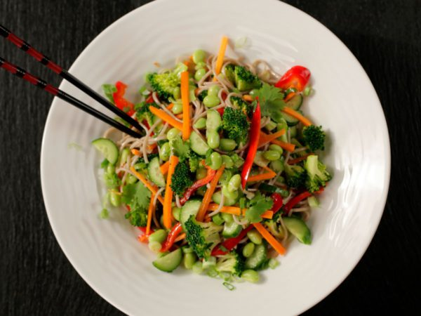 Recipe — Buckwheat Noodles with Vegetables