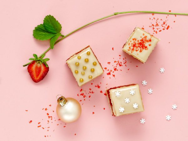 Recipe — Maple Petit Fours