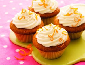 Maple-frosted Spice Cupcakes