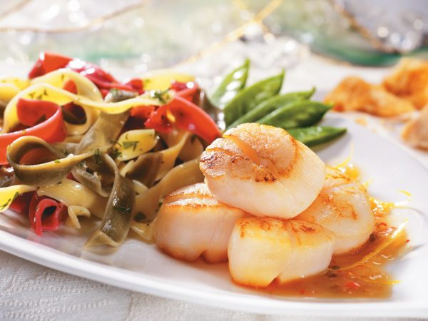 Recipe — Scallops with Lemon and Maple Syrup Dressing
