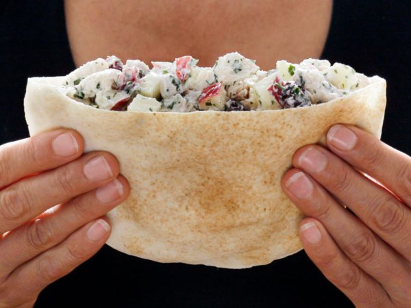 Recipe — Maple Chicken Salad Pita Pocket