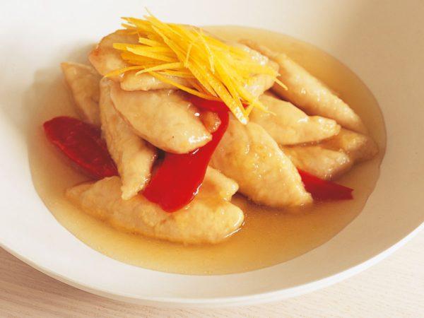 Recipe — Chicken Breast in a Maple-lemon Sauce