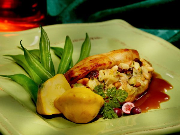 Recipe — Stuffed Chicken Breasts with Maple Glaze