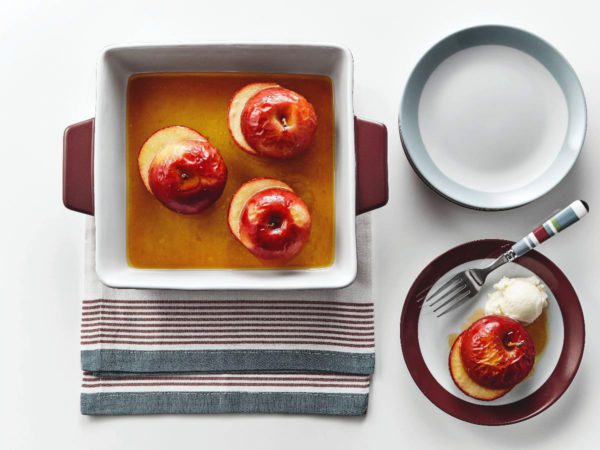 Recipe — Maple-baked Apples