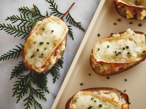Recipe — Cheese and Maple-Stuffed Potatoes
