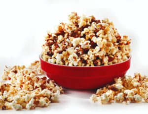 Maple-Nut Caramel Corn