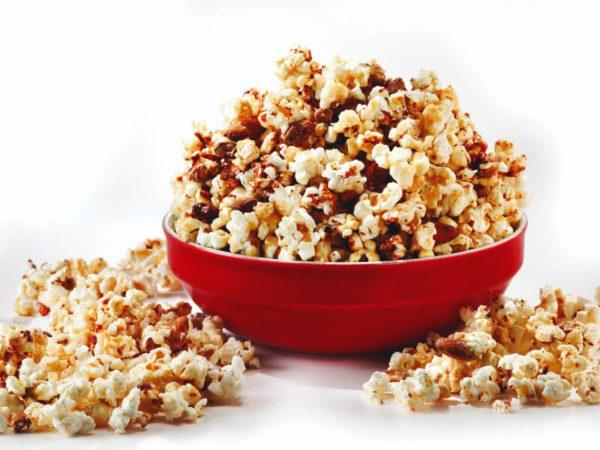 Recipe — Maple-nut Popcorn Brittle