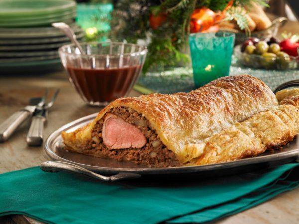 Recipe — Maple-Laced Pork Wellington Tourtière