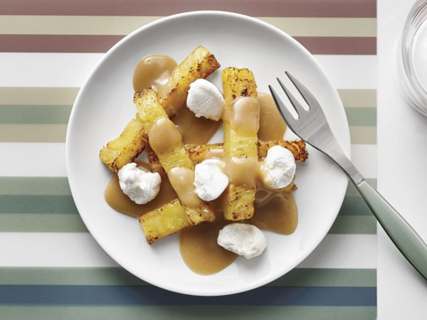 Recipe — Pineapple and Maple Poutine