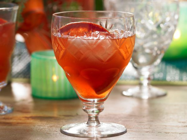 Recipe — Maple and Blood Orange Campari Punch