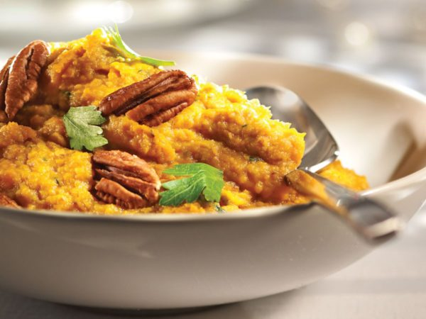 Recipe — Sweet Potato Puree with Pecans and Maple Syrup