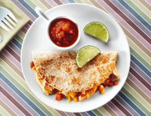Olé Quesadillas with Chicken and Maple