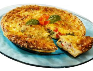 Maple Flavour Quiche