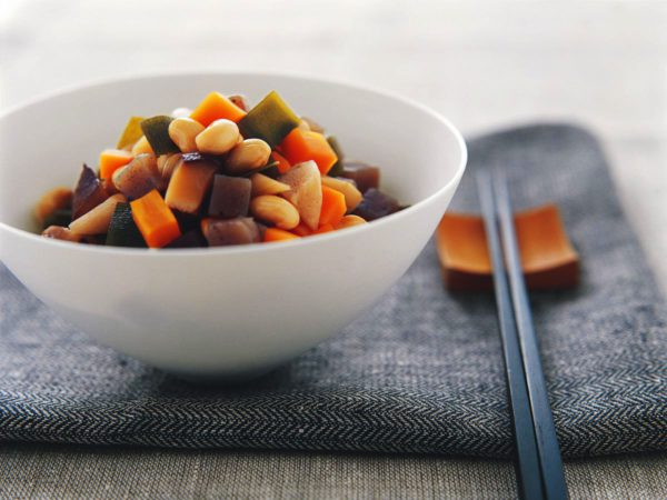 Recipe — Bean and Vegetable Stew with Maple Syrup