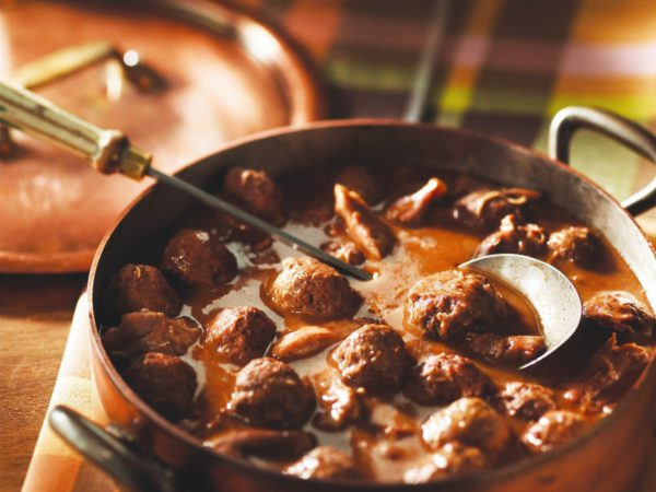 Recipe — Meatballs with Pork Shank