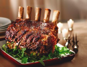 Maple Rib Roast
