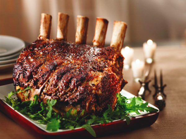 Recipe — Maple Rib Roast