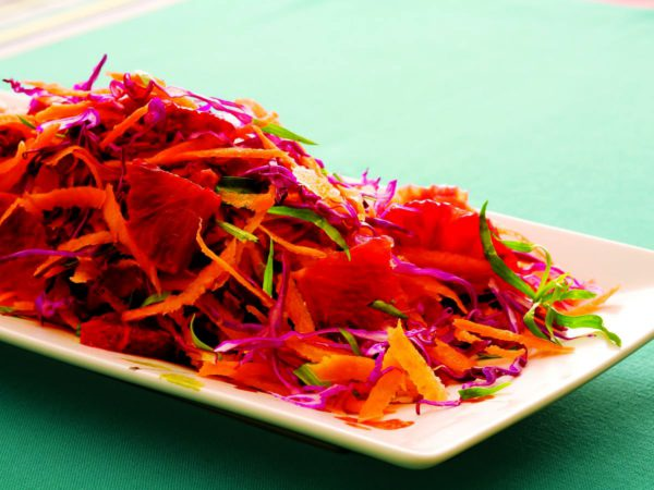 Recipe — Carrot Citrus Slaw