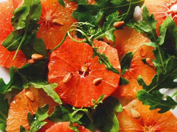 Recipe — Pink Grapefruit Salad with Vanilla and Maple Syrup