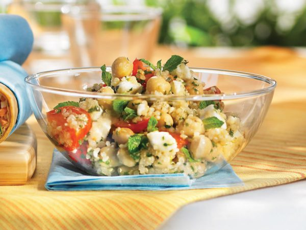 Recipe — Maple-Flavoured Quinoa Salad with Feta and Mint