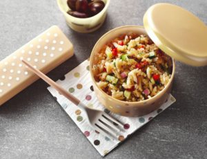 Maple Orzo and Quinoa Salad