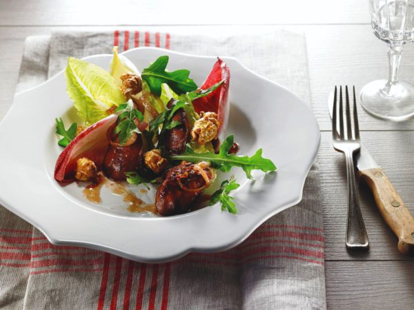 Recipe — Warm Maple Chicken Liver Salad