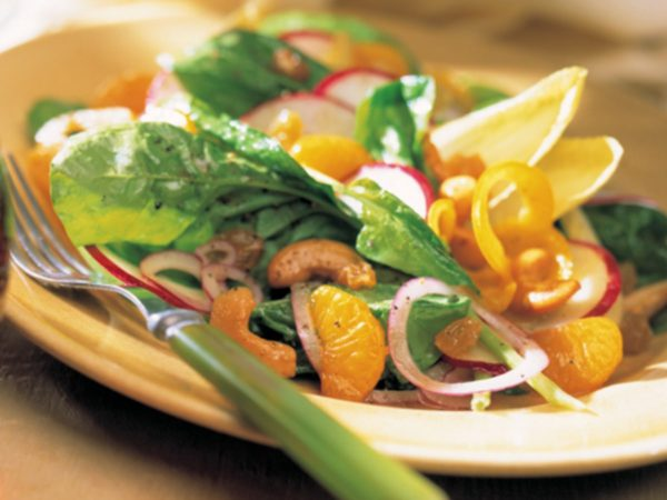 Recipe — Green Salad with Maple Vinaigrette