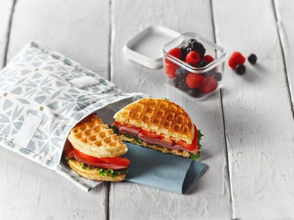 Recipe — Ham and Maple Waffle-sandwich