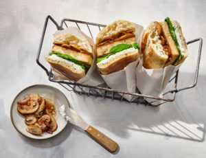 Hot Tofu Sandwiches