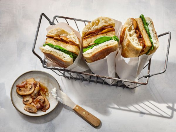 Recipe — Hot Tofu Sandwiches