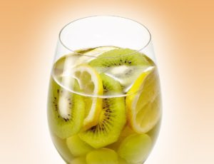 White Sangria with Maple