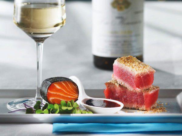 Recipe — Salmon Sashimi with Maple Syrup