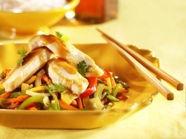 Recipe — Teriyaki Chicken Stir-fry with Maple Syrup