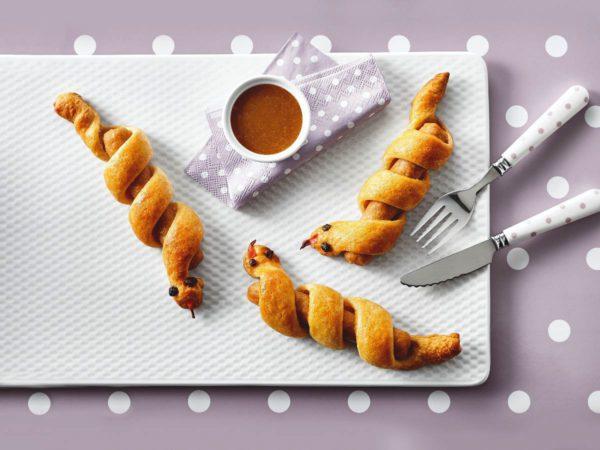 Recipe — Sausage and Maple Snake Brioche