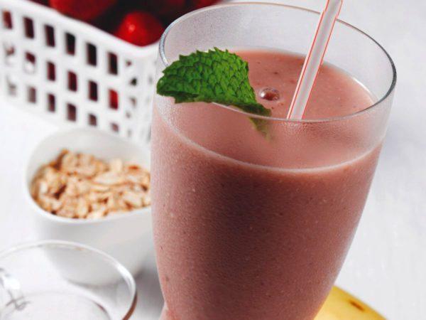 Recipe — Maple-Oatmeal Smoothie