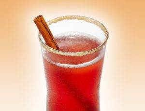 Apple-Cranberry Maple Spritzer