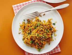 Maple-Infused Carrot and Millet Tabbouleh