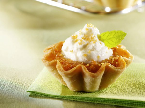 Recipe — Pumpkin and Maple Syrup Mini Tarts