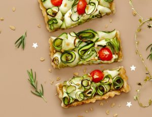 Maple Butter Zucchini Tart