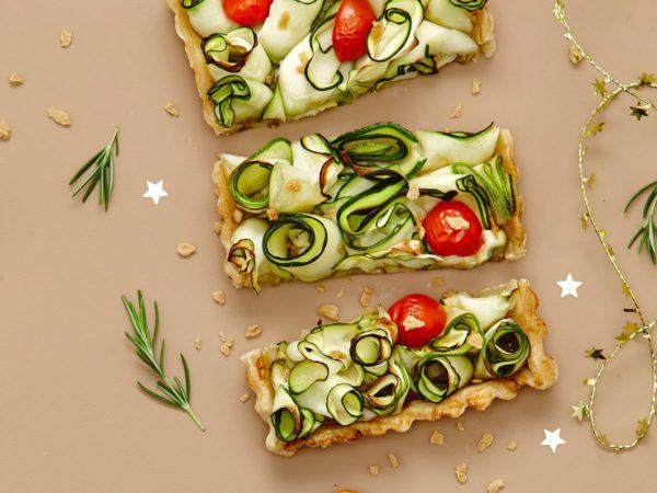 Recipe — Maple Butter Zucchini Tart