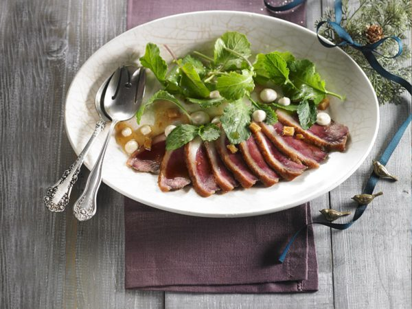 Recipe — Maple Duck Tataki